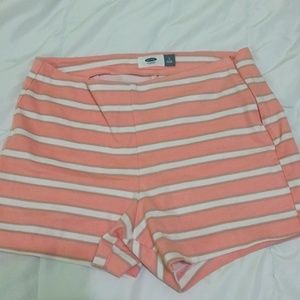 Peaches n' Cream Striped Shorts